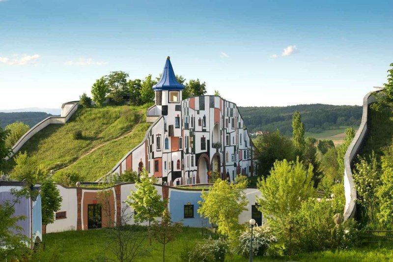 Rogner Bad Blumau - Hundertwasser Architekturprojekt